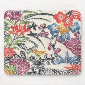 Bingata Floral III Mouse Pad