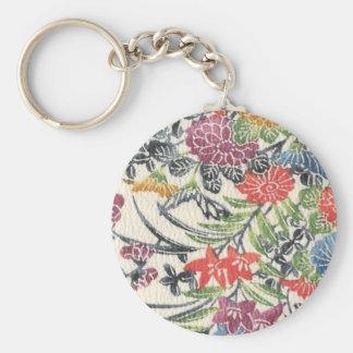 Bingata Floral Key Chain