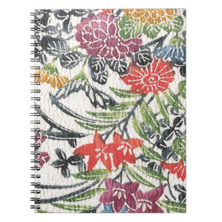 Bingata Floral Notebook