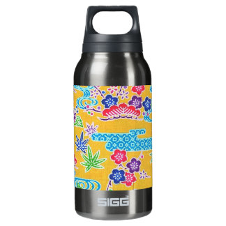 Bingata Gold Insulated Water Bottle