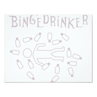 binge drinker icon card