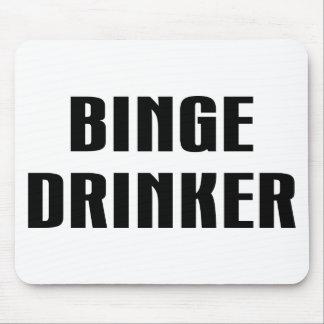 Binge Drinker Mouse Pad