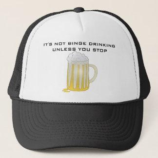 BINGE DRINKING TRUCKER HAT