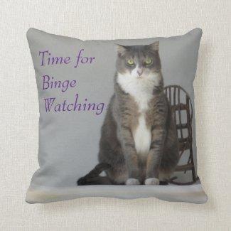 Binge Watching Pillow