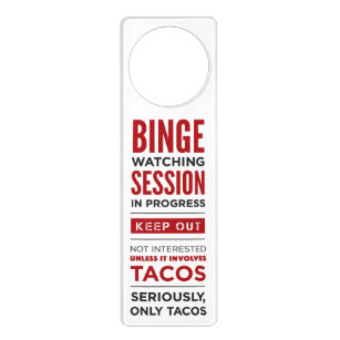 Funny Door Hangers Zazzle - In session door hanger template