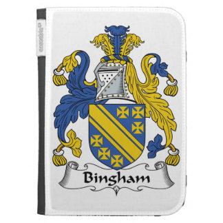 Bingham Family Crest Kindle Cases