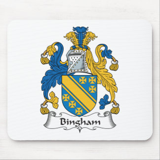 Bingham Family Crest Mouse Pad