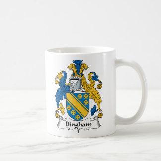 Bingham Family Crest Coffee Mug