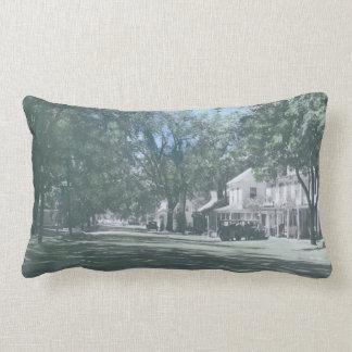 Bingham, Maine - Main Street View with Hotel Pillow