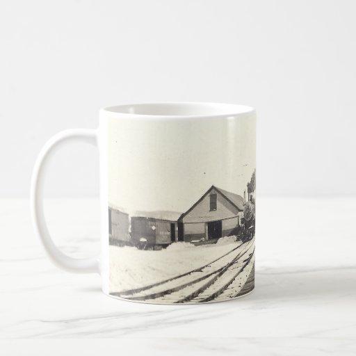 Bingham Maine Train Station Mug