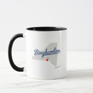 Binghamton New York NY Shirt Mug