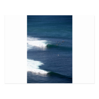 Bingin Bali paradise island surfing wave Postcard