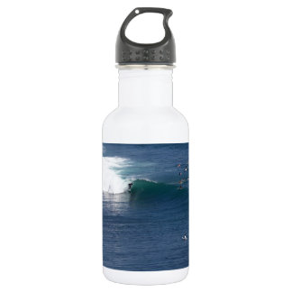Bingin Bali paradise island surfing wave Stainless Steel Water Bottle