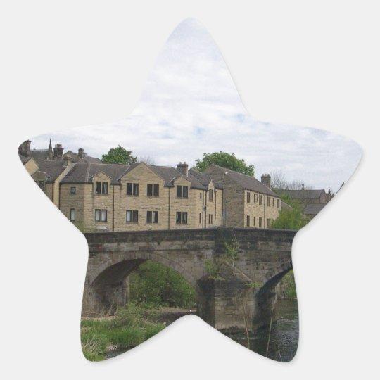 Bingley Bridge, Ireland Star Sticker