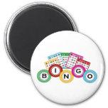 Bingo 2 Inch Round Magnet