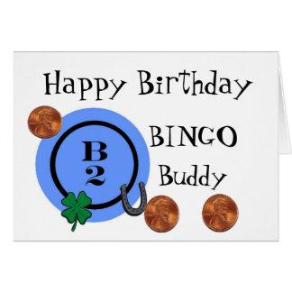 BINGO B2 CARD