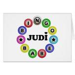 Bingo Babe Judi Card