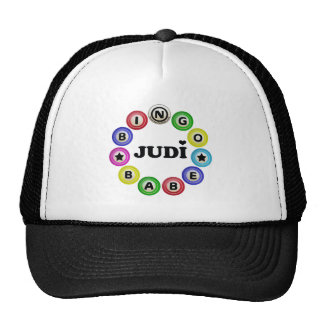 Bingo Babe Judi Hats