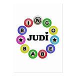 Bingo Babe Judi Large Business Cards (Pack Of 100)