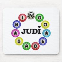 Bingo Babe Judi Mouse Pad