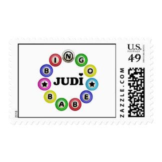 Bingo Babe Judi Postage