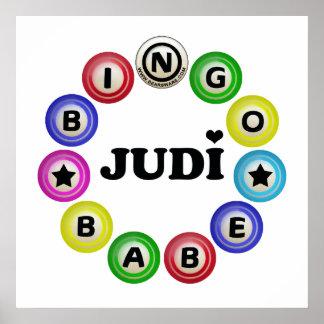 Bingo Babe Judi Posters