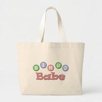 Bingo Babe Large Tote Bag