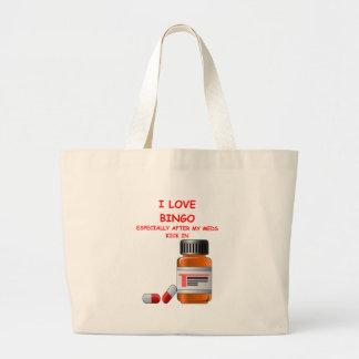 bingo canvas bag