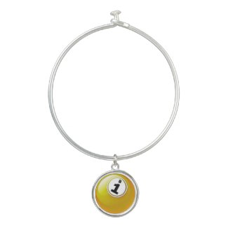 BINGO BALL B1 Lucky Number Bingo Necklace Charm