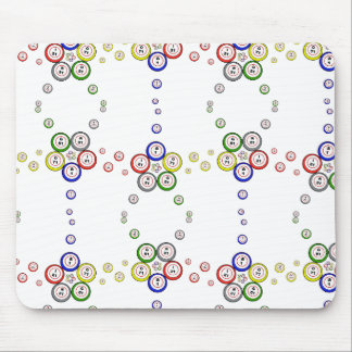Bingo Balls Mouse Pad
