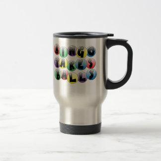Bingo Balls Travel Mug