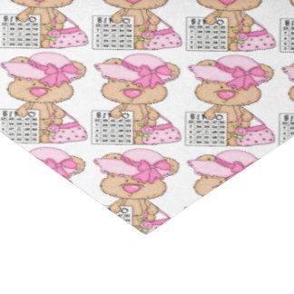 "Bingo Bear Gambling tissue paper 15"" X 20"" Tissue Paper"