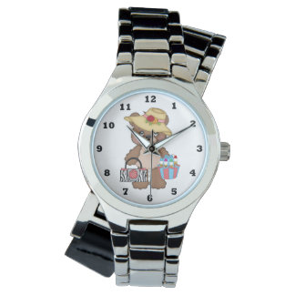 Bingo Bear Gambling wrist watch