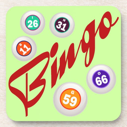 Bingo Beverage Coaster