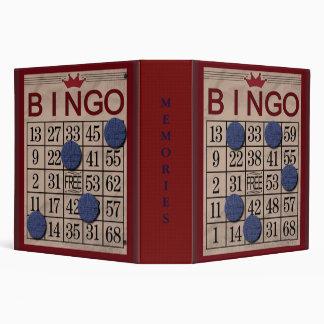 Bingo Bingo Fun Fun Binder