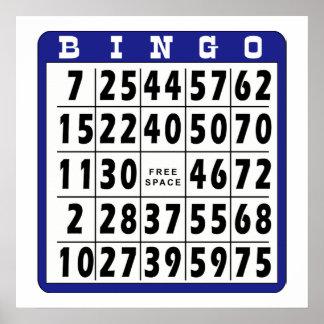 Bingo Card 1 Print