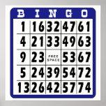 Bingo Card 2 Posters