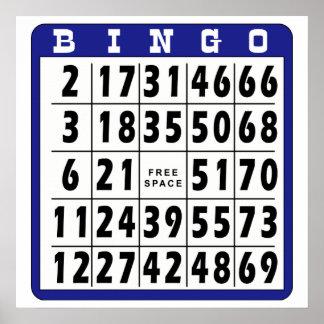 Bingo Card 3 Posters