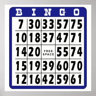 Bingo Card 7 Poster