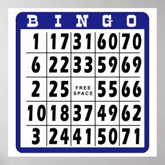 Bingo Card 9 Print