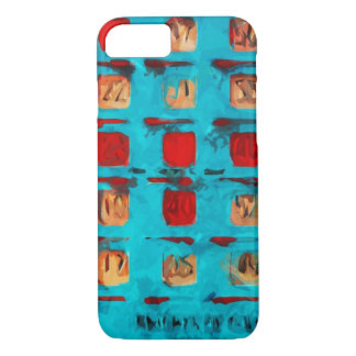 BINGO Card Abstract Impressionism iPhone 7 Case
