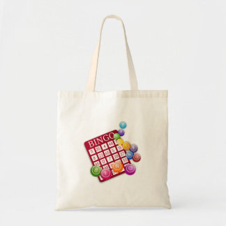 BINGO Card Budget Tote Bag