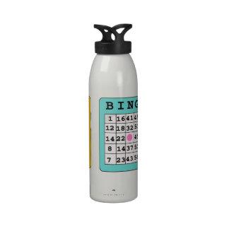 Bingo Card Liberty water bottle