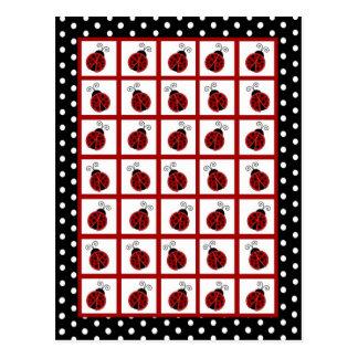 Bingo Card Markers Red Ladybug