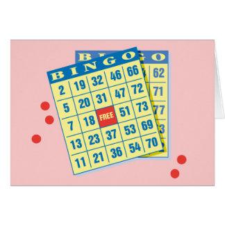 Bingo Card - Play To Win - Good Luck Charms