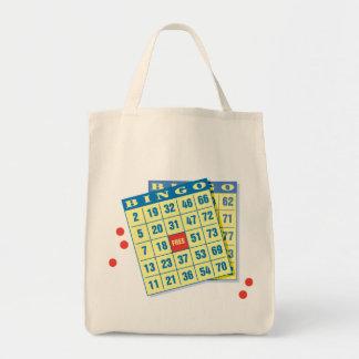 Bingo Card - Play To Win - Good Luck Charms Canvas Bag