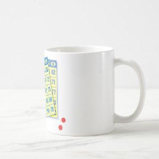 Bingo Card - Play To Win - Good Luck Charms Mug