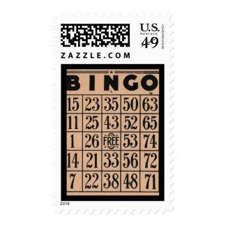 Bingo Card Stamp