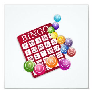 BINGO Card with BINGO Balls