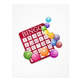 """BINGO Card with Bingo Dowels 8.5"""" X 11"""" Flyer"""